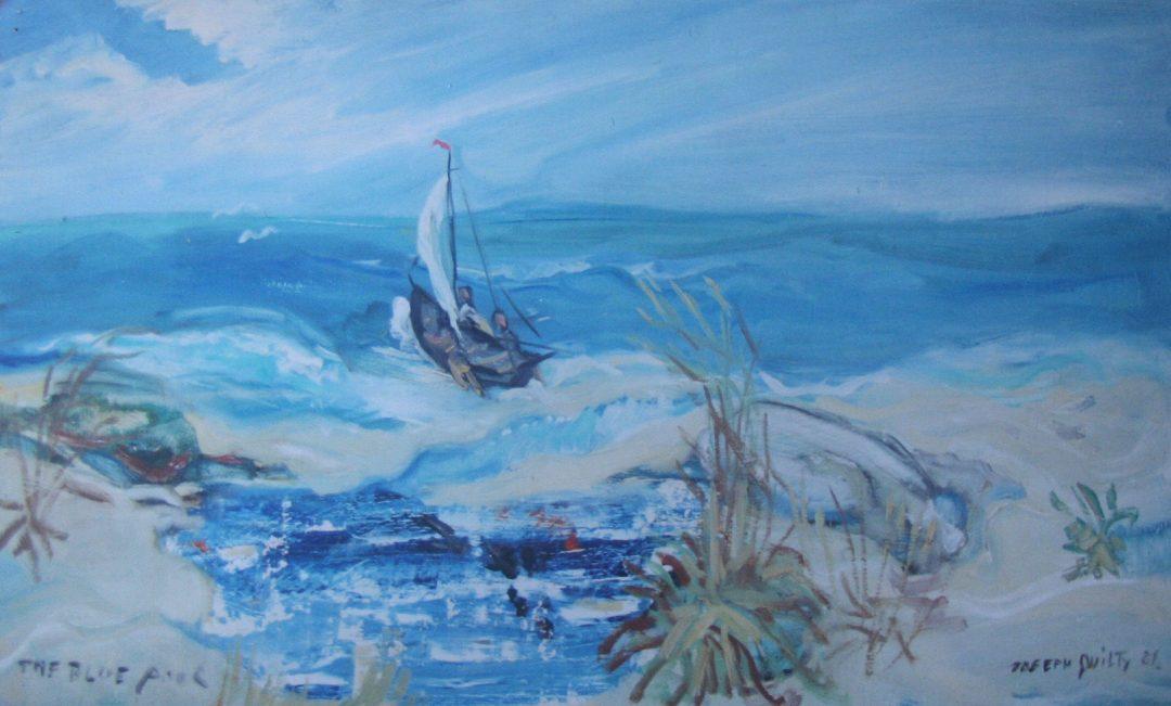 Setting sail, Galway Bay