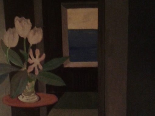 Still life in dark room