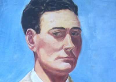 Young Joseph, self portrait