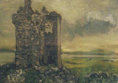 Gleninagh castle, near Ballyvaughan
