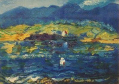 Blue scene