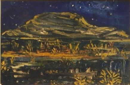 Starry night in the Burren