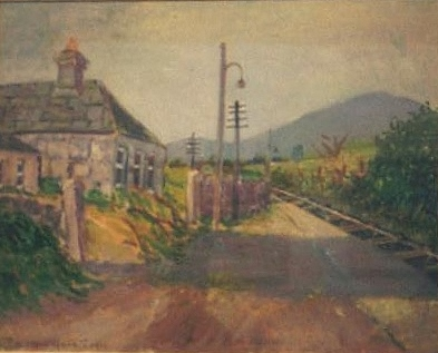 Old railway station, Ardrahan