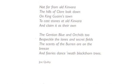 Not far from old Kinvara, by Joe Quilty