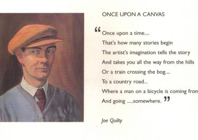 Once upon a canvas, by Joe Quilty