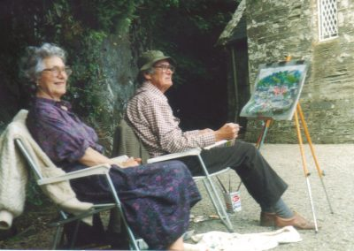 Joe with Anne, Glandore